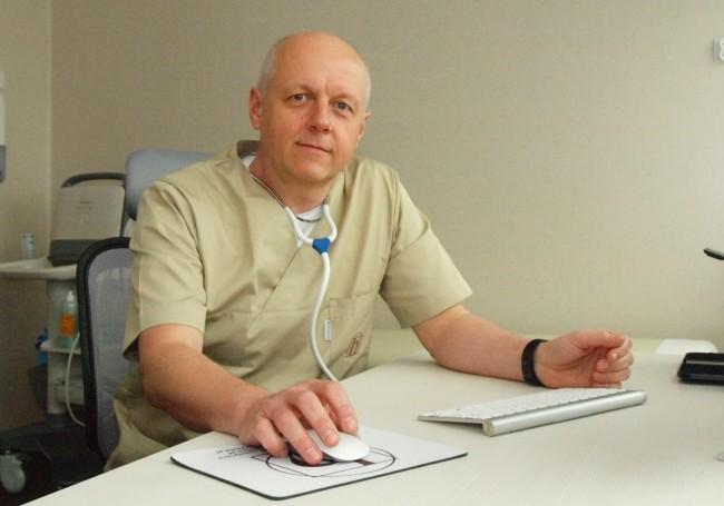 lek. Cezary Czekalski, specjalista chirurg
